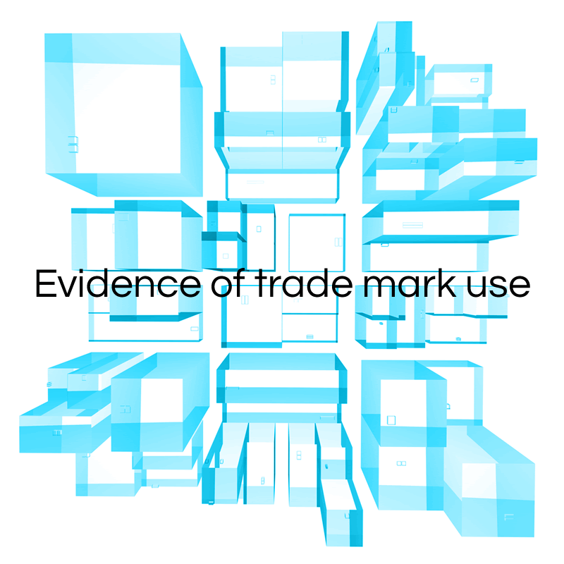 Evidence of trade mark use