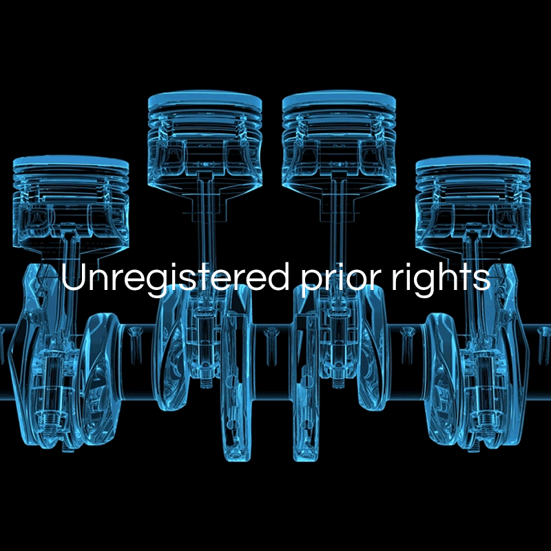 Unregistered prior rights